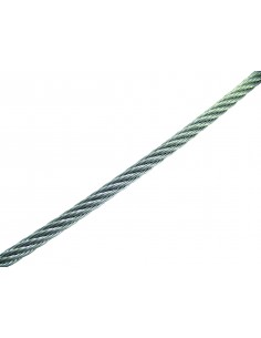CABLE 7 X 19 + 0 MUY FLEXIBLE